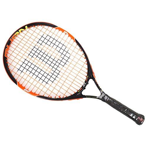 Wilson Burn 21 Rkt Racchetta da Tennis, Nero/Arancione, 21