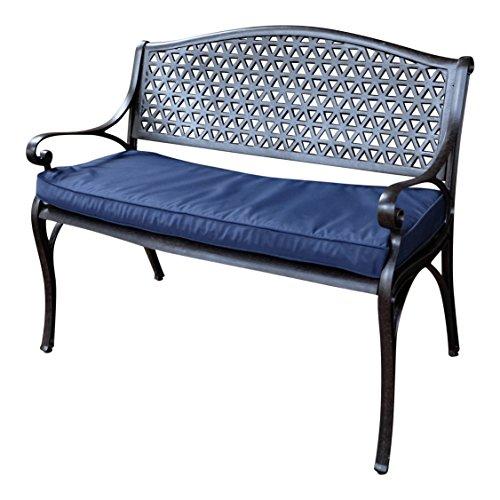Lazy Susan Furniture July Metal Garden Bench