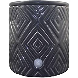 Electric Wax Warmer - Use to Melt Scented Candle Cubes - Green Decorative - Aromatherapy Acessory - Fill Your Home with Fragrance