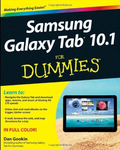 Samsung Galaxy Tab 10.1 For Dummies