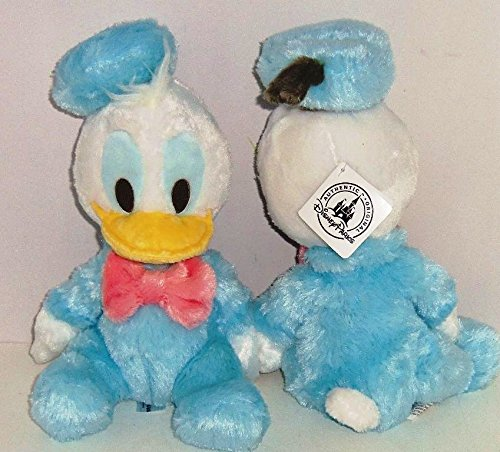 Disney Baby Donald Donald 8 Inch Plush Doll Rattle Inside - 1