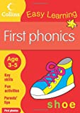 First Phonics: Age 3-5 (Collins Easy Learning Age 3-5)