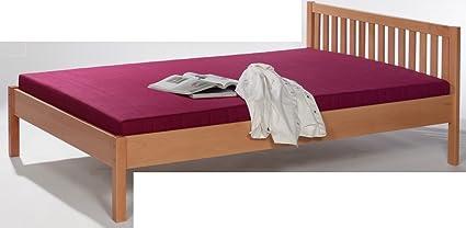 4-4-3-1728: schönes Bett - Futonbett - Buche massiv - Liegefläche 180x200cm - Doppelbett