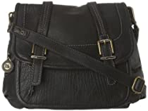 Hot Sale The SAK Silverlake Flap 1000037756 Shoulder Bag,Black,One Size