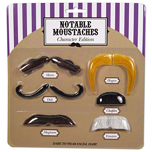 Self Adhesive Costume Mustache SET