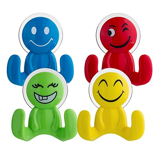 top-sky-powerful-vacuum-suction-cup-hook-holder-for-bathroom-kitchen-colourful-smile-emoji-combo-of-
