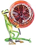Deco Breeze Decorative Figurine Table Fan, Gecko, 9-1/2-Inch by 7-1/2-Inch