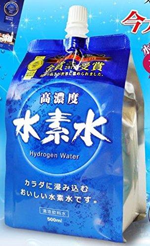 【24個】 超高濃度 水素水 500mlx24個 (1ケース)4543268072557