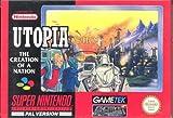 echange, troc Utopia the creation of a nation - Super Nintendo - PAL