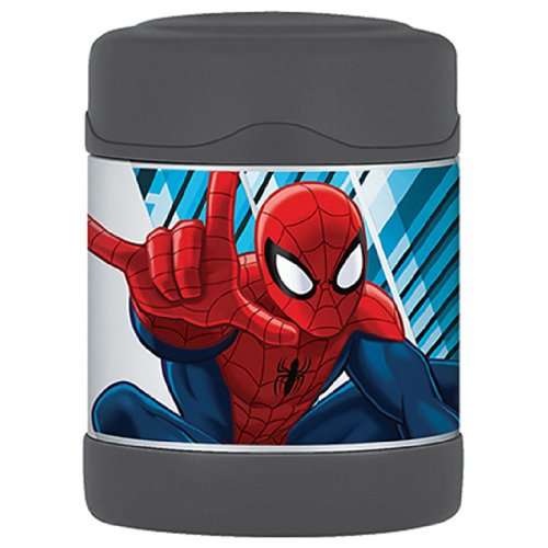 Thermos Marvel Spider-Man Series Funtainer Insulated 10 Oz. Food Jar front-541083