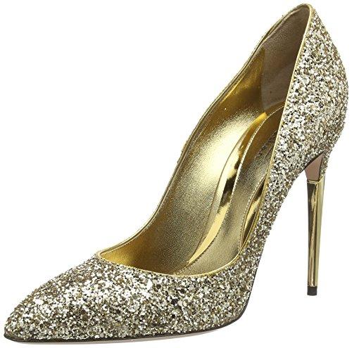 Sebastian S6849 A/14, Decolleté chiuse donna, Oro (Gold (glitter oro chiaro)), 37
