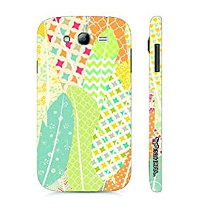 Samsung Galaxy J5 Prints on Feathers 2 designer mobile hard shell case by Enthopia