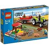 Lego - 7684 - Jeux de construction - lego city - La porcherie et le tracteur