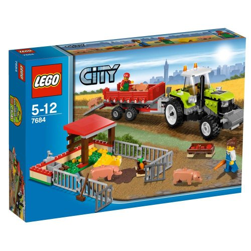 LEGO City 7684 - Ferkel-Gehege mit Traktor