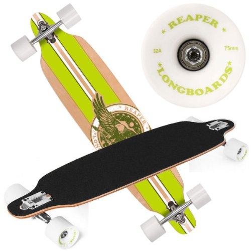 Reaper Longboard LB 41 grün ABEC-7 high speed chrome