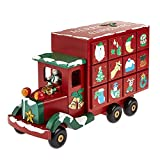 Toy Town Wooden Delivery TRUCK/LORRY Wooden Advent Calender