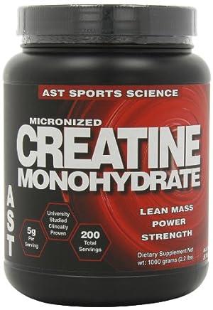 AST Sports Science Micronized Creatine Monohydrate, 2.2 lbs
