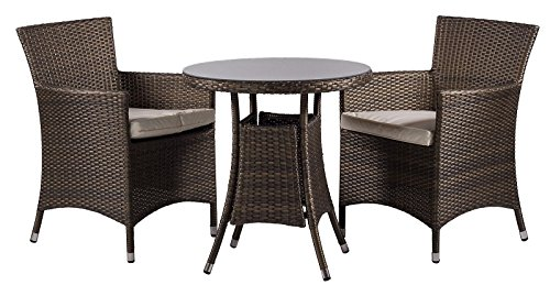 Savannah-2-Seat-Chairs-Rattan-Garden-furniture-set-Round-Glass-Dining-Table-Seat-Cushions-Proof-Dust-Cover-Lounge-Set-Outdoor-Patio-Conservatory-70-x-70-x-74-cm-Minimal-Assembly
