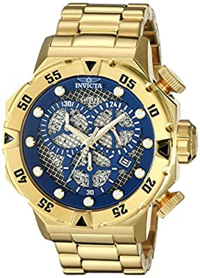 Invicta Men's 19183 I-Force Analog Display Japanese Quartz Gold Watch