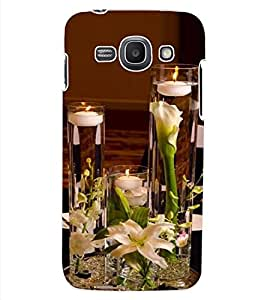 ColourCraft Lovely Candles Design Back Case Cover for SAMSUNG GALAXY ACE 3 3G S7270