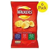 Walkers Variety Crisps 6 x 25g