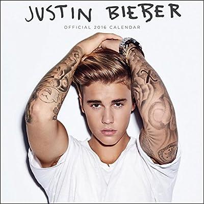 Justin Bieber - 2016 Calendar 12 x 12in