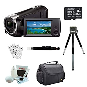Sony HD Video Recording HDRCX405 Handycam Camcorder with 8GB Accessory Kit