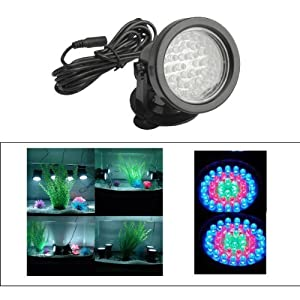 Vktech Underwater 36 Led Submersible Spot Light for Water Aquarium Garden Pond Pool Tank