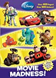 Movie Madness! (Disney Pixar) (Super Jumbo Coloring Book)