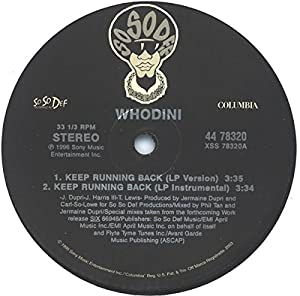 Keep Running Back [Vinyl]