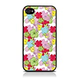iPhone 4S / iPhone 4 Vintage Floral Blooming Amazing Print Multicoloured Image Hard Back Cover / Case / Shell / Shieldby CallCandy