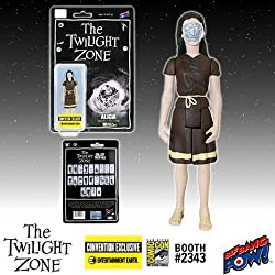 Twilight Zone Alicia 3 3/4-Inch Figure In Color - Con.Excl.