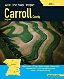 img - for ADC The Map People Carroll County, Maryland Street Atlas book / textbook / text book