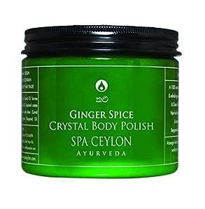 Spa Ceylon Luxury Ayurveda Ginger Spice Crystal Body Polish, 500g