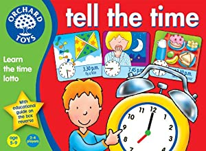 Tell The Time from Orchard Toys