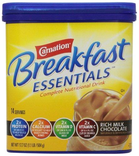 Carnation Breakfast Essentials, Rich Milk Chocolate Powder, 17.7oz (Nestle Yogurt compare prices)