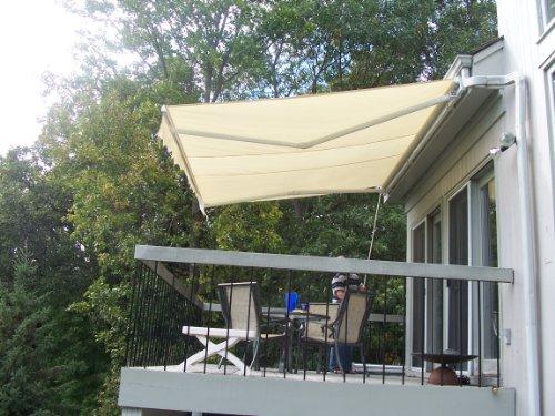 aleko retractable awning 13 39 x 8 39 patio awning 4m x 2 5m