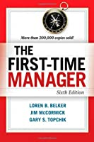 The First-Time Manager, 6th Edition Front Cover