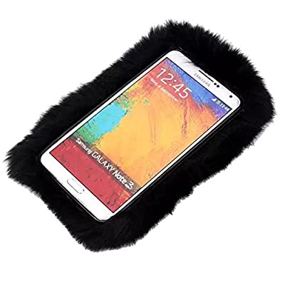 ZTE Maven 2 case, ZTE Sonata 3 case,ZTE Avid Plus case,Kircher Soft Rex Rabbit Fur Fluffy Plush Back Case For ZTE Prestige by Kircher