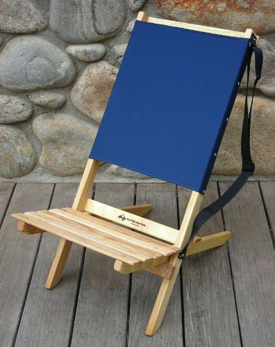 Blue Ridge Wood Chair - Atlantic Blue