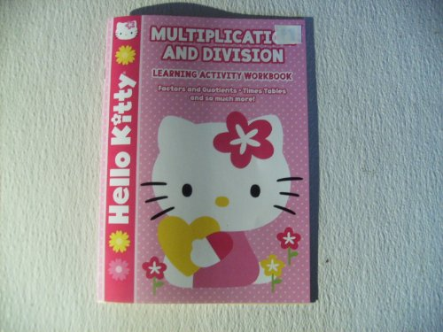 Hello Kitty Multiplication and Division Learning Activity Wookbook by Bendon - 1
