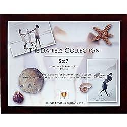 Dark walnut deep craft Keepsake Box - 5x7