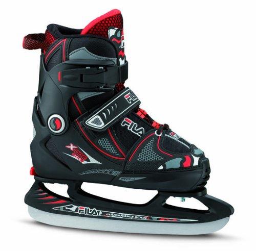 fila-schlittschuhe-x-one-ice-patines-de-patinaje-sobre-hielo-color-negro-rojo-talla-35-38