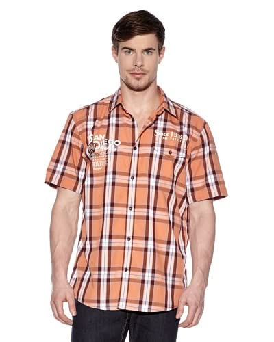 Tom Tailor Camisa Lodi Naranja