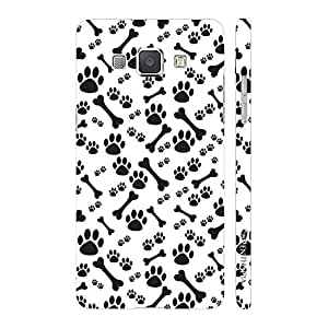 Enthopia Designer Hardshell Case Dog N The Bone Back Cover for Samsung Galaxy A8