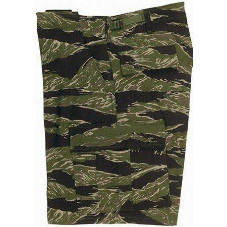 Uf Bdu Short Tiger Stripe Camo P/c Tiger Stripe Camouflage Shorts