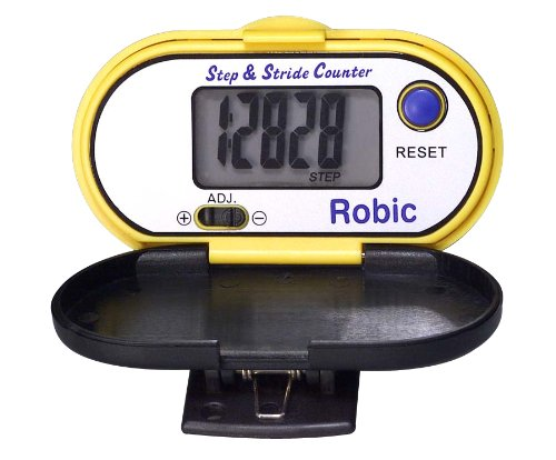 Cheap Robic M-307 Step and Stride Counter Pedometer (Yellow) (M307 Yellow)