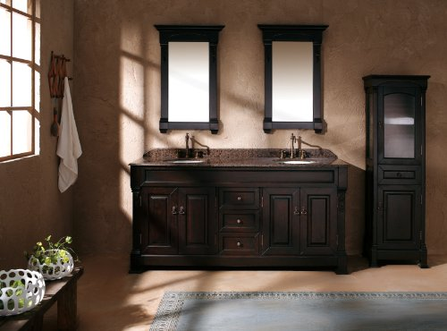 "5 Top Options 72"" Mahogany Double Sink Bathroom Vanity Solid Oak By James Martin"