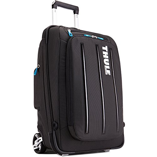 Thule Crossover 38 Liter Rolling Carry-On with Laptop Compartment, Black (TCRU-115) (Carry On Thule compare prices)