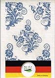 【まとめ買いセット】BLITZ ブリッツ 100%天然繊維 ドイツのフキン エレガントフラワー3枚セット